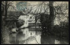 Ancien moulin sur la Bièvre - Antony