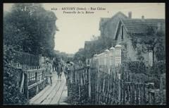 Rue Céline - Passerelle de la Bièvre - Antony