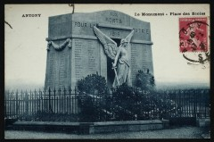 Monument de la guerre de 14-18 place des Ecoles - Antony