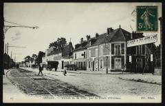 Entrée de la Ville par la Route d'Orléans - Antony