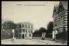 Avenue des deux Gares et la Poste - Antony