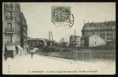 La Gare. Ligne de Versailles. Avenue Flachat - Asnières-sur-Seine