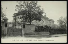 Ecole Ozanam, ancien château - Asnières-sur-Seine