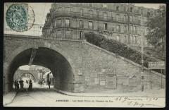 Les deux ponts du chemin de fer - Asnières-sur-Seine