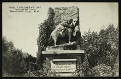 Au Cimetière des Chiens - Monument de Barry 92 Asnières-sur-Seine