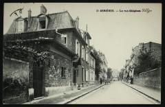 La Rue Stéphen [Steffen] - Asnières-sur-Seine