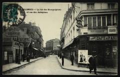 La rue des Bourguignons et la Rue des Aubépines - Bois-Colombes