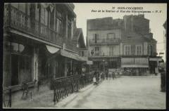 Rue de la Station et Rue des Bourguignons - Bois-Colombes