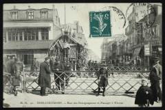 Rue des Bourguignons et Passage à Niveau - Bois-Colombes