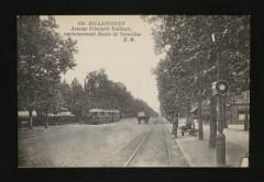 Avenue Edouard-Vaillant, anciennement route de Versailles - Boulogne-Billancourt