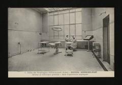 Hôpital Ambroise-Paré - Service de Chirurgie générale - Salles d'opérations aseptiques - Boulogne-Billancourt