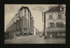 Avenue J.-B. Clément et La France Mutualiste 92 Boulogne-Billancourt