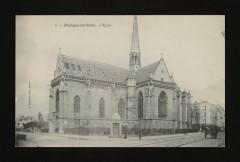L'Eglise et la Grande Rue - Boulogne-Billancourt