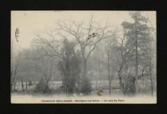 Pensionnat Saint-Joseph - Un coin du Parc - Boulogne-Billancourt