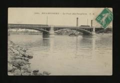 Billancourt - Le Pont des Peupliers 92 Boulogne-Billancourt