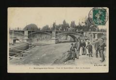 Pont de St-Cloud - Port de Boulogne - Saint-Cloud