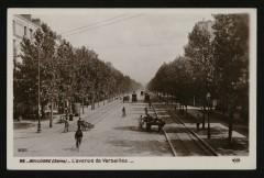 L'avenue de Versailles - Boulogne-Billancourt
