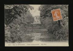 Le Bois de Boulogne - chalet d'Armenonville - Paris 16e