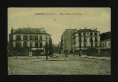 La Place Bernard-Palissy - Boulogne-Billancourt