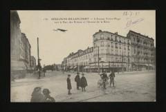 L'Avenue Victor-Hugo vers le Parc des Princes et L'Avenue de la Reine - Boulogne-Billancourt