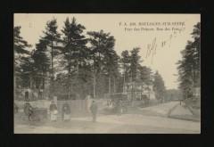 Parc des Princes . Rue des Pins - Boulogne-Billancourt