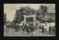 L'Entrée du Vélodrome du Parc des Princes - Paris 16e