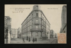 Rue des Tilleuls - Rue du Centre - Boulogne-Billancourt