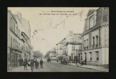 La Grande Rue et l'entrée du Bois - Boulogne-Billancourt