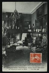 Maison d'André Theuriet -  Le Cabinet de travail du Maître - Bourg-la-Reine