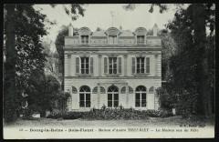 Maison d'André Theuriet - La Maison vue du Parc - Bourg-la-Reine