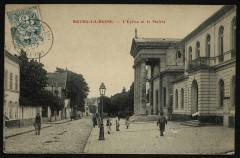 L'Eglise et la Mairie - Bourg-la-Reine