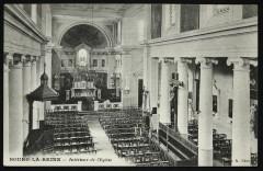 Interieur de l'Eglise - Bourg-la-Reine