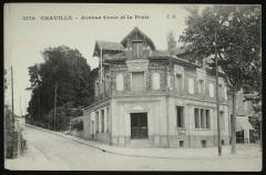 Avenue Curie et la Poste 92 Chaville