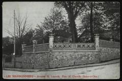 Avenue de Louvois, Parc de Chaville (Seine-et-Oise) 92 Chaville
