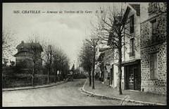 Avenue de Verdun et la Gare 92 Chaville