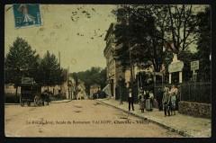 Rue de Jouy, façade du Restaurant Valrof, Chaville-Vélizy - Viroflay