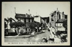Rue de Jouy - Vue prise du Pont du Chemin de fer - Viroflay
