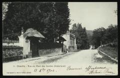 Rue du Pavé des Gardes (historique) - Chaville