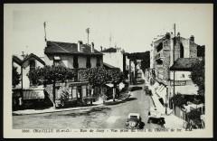 Rue de Jouy - Vue prise du Pont de Chemin de fer - Chaville