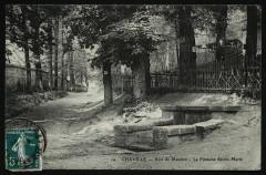 Bois de Meudon - La Fontaine Sainte-Marie - Clamart