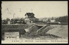Ligne des Invalides - Gare de Chaville-Vélizy - Viroflay