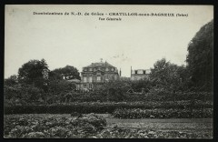 Dominicaines de N.-D. de Grâce - Vue générale - Châtillon