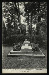 Dominicaines de N.-D. de Grâce - Le petit bois - Châtillon