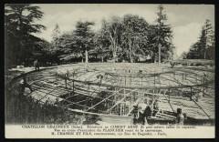 Réservoir en ciment armé - Châtillon