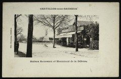 Maison Rousseau et Monument de la Défense - Châtillon