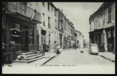 Rue de la Gare - Châtillon