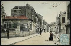 La Rue de la Mairie - Châtillon