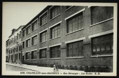 Rue béranger - Les Ecoles - Châtillon