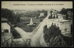 Le plateau de Chatillon, vue prise de la Tour Biret - Châtillon