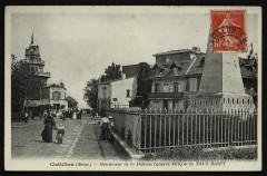 Monument de la Défense (Guerre 1870) et la Tour Biret - Châtillon